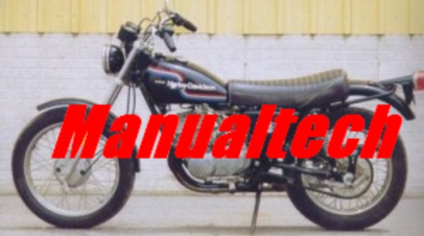 Product picture 1974-1978 Harley-Davidson SS/SX 175 250 Service Repair