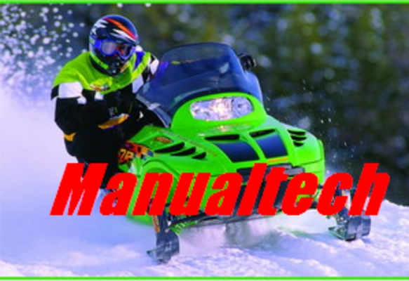 Product picture Arctic Cat snowmobile service manual repair 1990-1998
